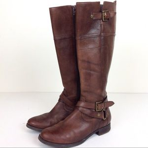 Crown Vintage Leather Riding Boots 7.5@